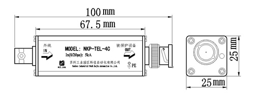 防雷器安装接线